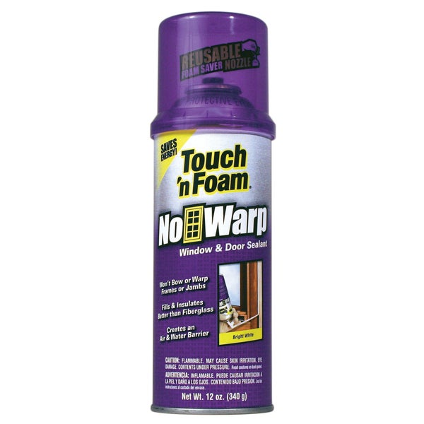 Touch n Foam 4001044000 12 Oz Touch 'n Foam Window & Door Insulating Sealant