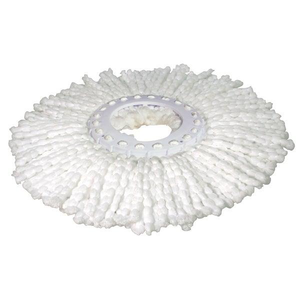 Pocket Hose 8172-6 White Microfiber Hurricane Spin Mop Refill