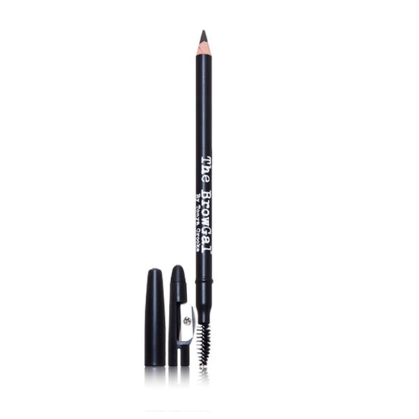 The BrowGal Black Skinny Eyebrow Pencil