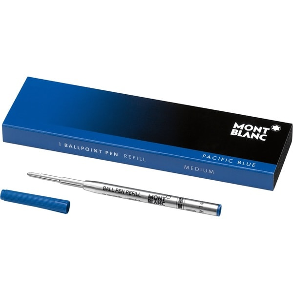 Montblanc Ballpoint Refill Medium Pacific Blue 105151