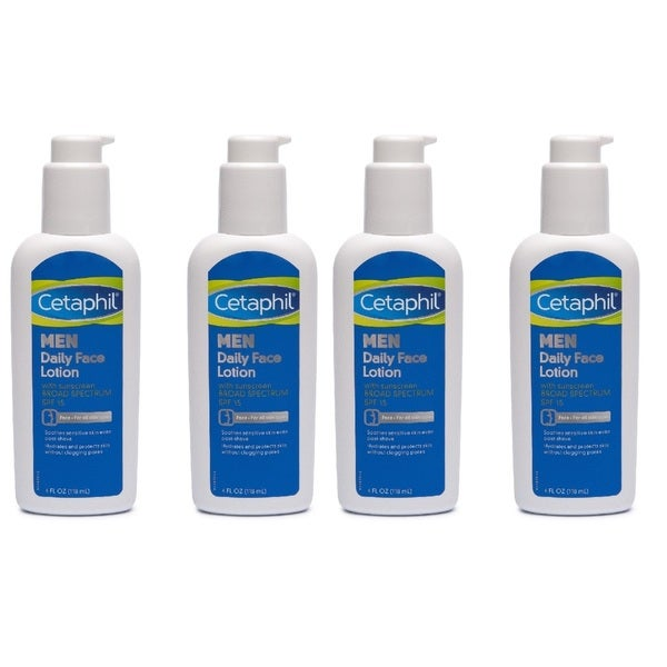 Cetaphil Men's SPF 15 Daily 4-ounce Face Lotion