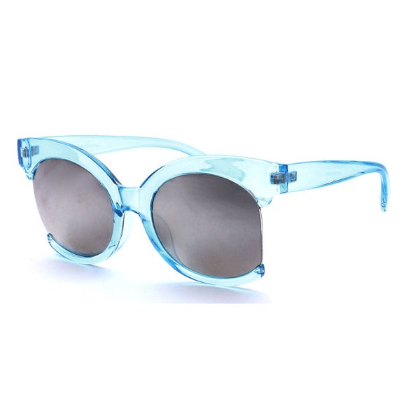 Epic Eyewear Women's Dapper Plastic Semi-rimless Sunglasses