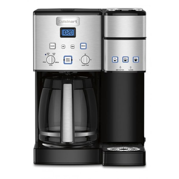 Cuisinart SS-15 Black 12-cup Coffee Maker and Single Serve Brewer 20119740