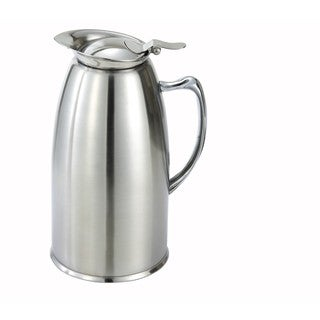 Winco Stainless Steel Satin-finish 20-ounce Insulated Coffee Server Pot