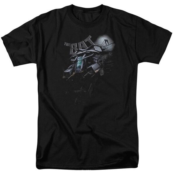 Dark Knight Rises/Patrol The Skies Short Sleeve Adult T-Shirt 18/1 in Black