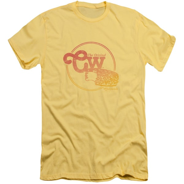 Chipwich/The Og Short Sleeve Adult T-Shirt 30/1 in Banana