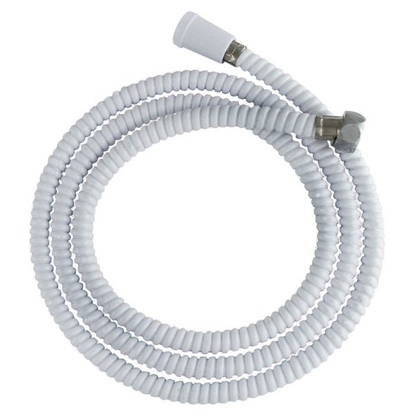 "LDR 520-2400W 72"" White Replacement Shower Hose"