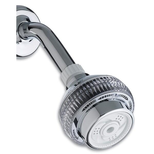 compare waterpik the original massage showerhead