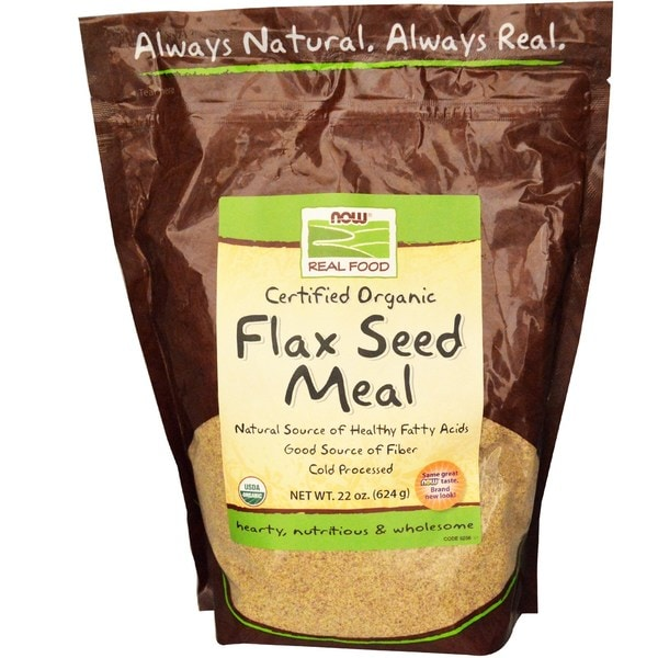Now Foods Organic 22-ounce Flax Seed Meal