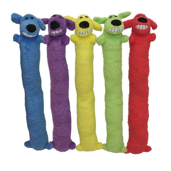 Multipet Jumbo Plush Loofa Dog Toy