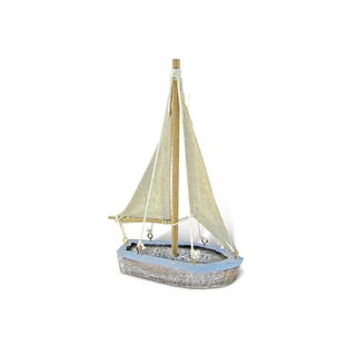 Puzzled Pacific Plastic Small Nautical Sailboat