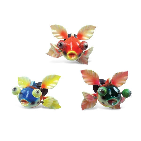 Puzzled Inc. Funny Goldfish Bobble Magnet