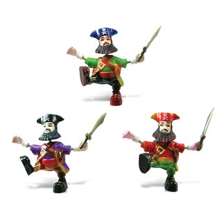Pirate Captain Bobble Magnet