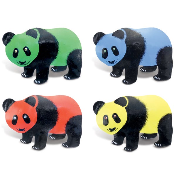Panda Bobble Metal Magnet