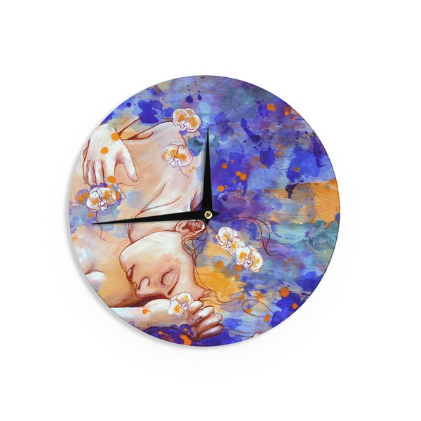 KESS InHouseKira Crees 'A Deeper Sleep' Wall Clock