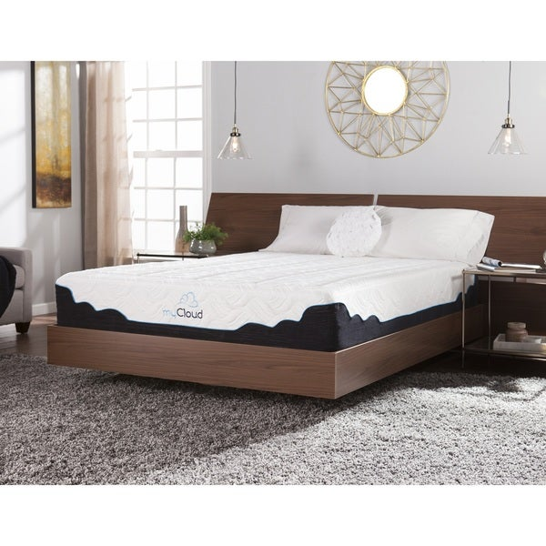 myCloud Cirrus 12-inch King-size Gel Memory Foam Mattress