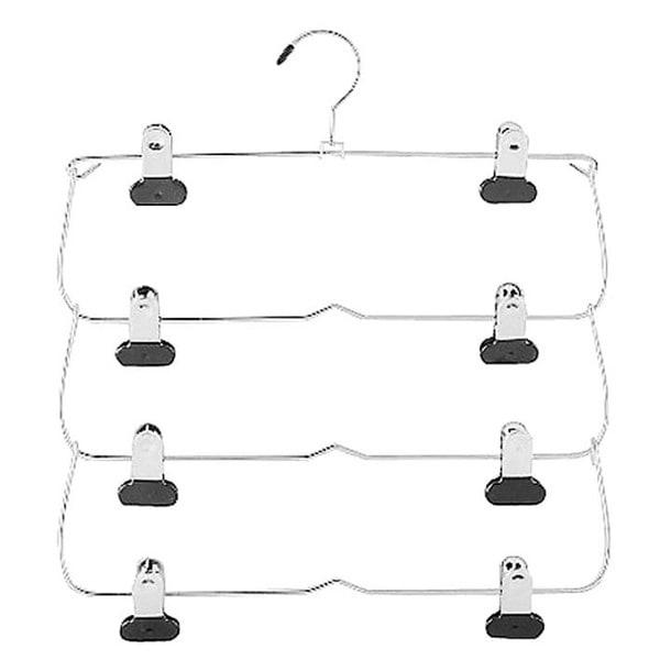 Whitmor 6021-185 4-Tier Folding Skirt Hanger