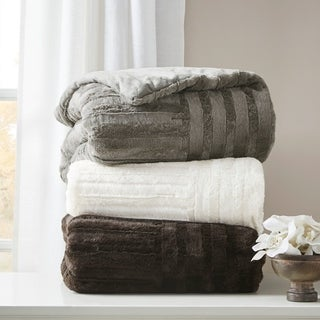 Premier Comfort Polar Ultra Plush Down Alternative Throw 3-Color Options
