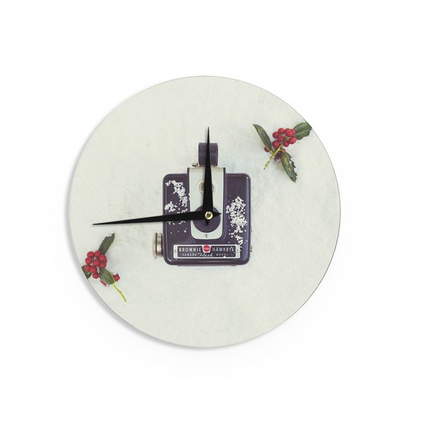 KESS InHouse Libertad Leal 'The Four Seasons: Winter' Wall Clock