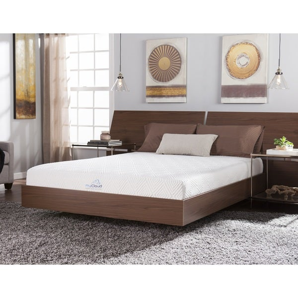 myCloud Stratus 8-inch Twin XL-size Gel Memory Foam Mattress