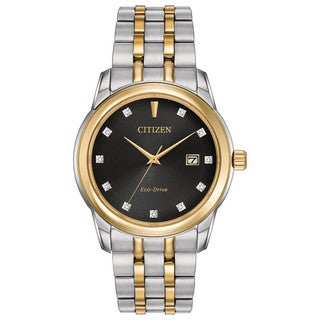 Citizen Men's BM7344-54E Eco-Drive Two-tone Stainless Steel Watch