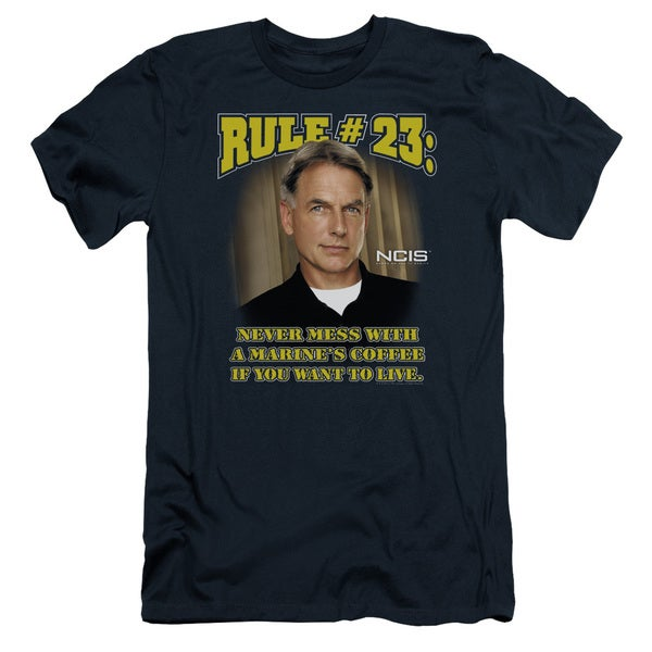 Ncis/Rule 23 Short Sleeve Adult T-Shirt 30/1 in Navy