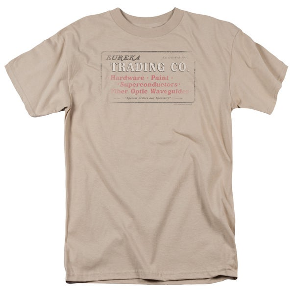 Eureka/Trading Short Sleeve Adult T-Shirt 18/1 in Sand