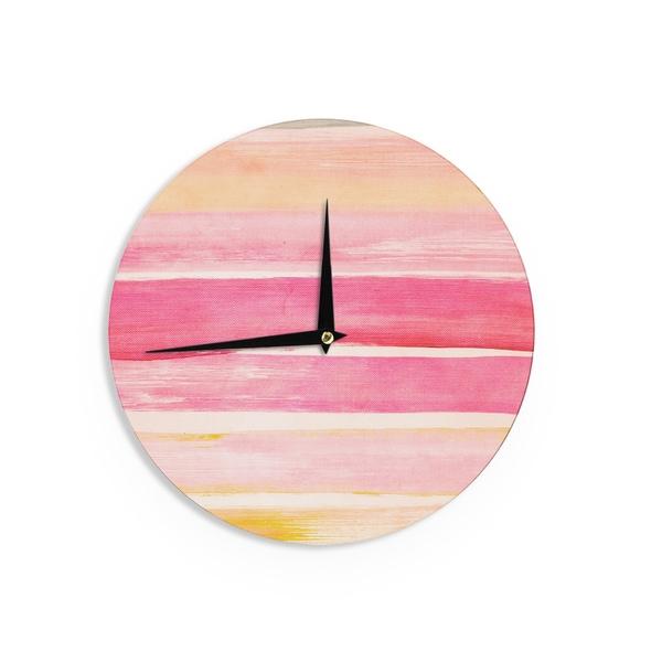 KESS InHouseIris Lehnhardt 'Colour Play' Wall Clock