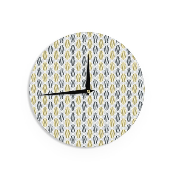 KESS InHouse Julie Hamilton 'Seaport' Wall Clock