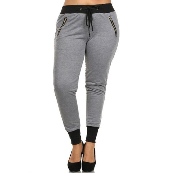Plus Size Women's Sweat Pants 20152320