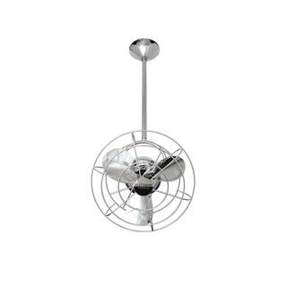 Mathews Fan Company Bianca Direcional Polished Chrome Ceiling Fan