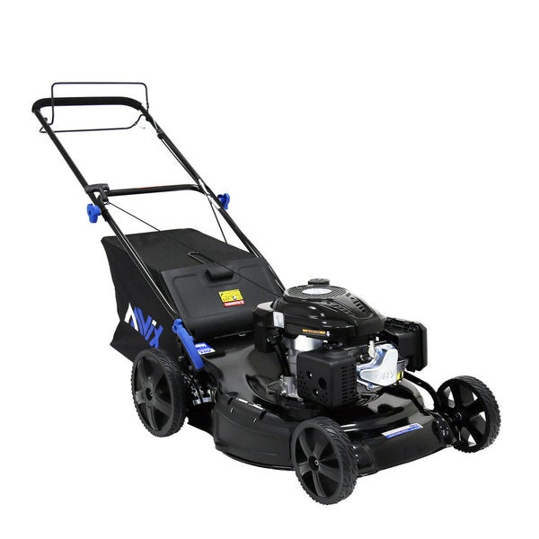 AAVIX AGT122B 3-in-1 196CC EPA3 Gas Self Propelled Lawn Mower