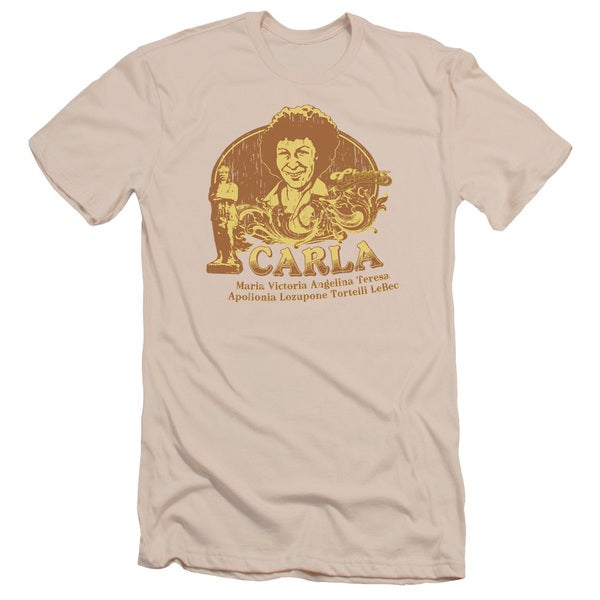 Cheers/Carla Short Sleeve Adult T-Shirt 30/1 in Cream