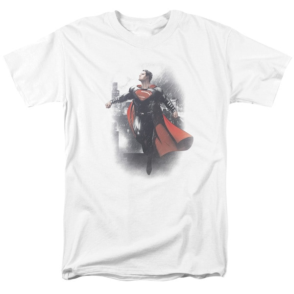 Batman Vs Superman/A New Dawn Short Sleeve Adult T-Shirt 18/1 in White