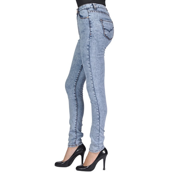 C'est Toi Skinny Denim Light Acid Jeans