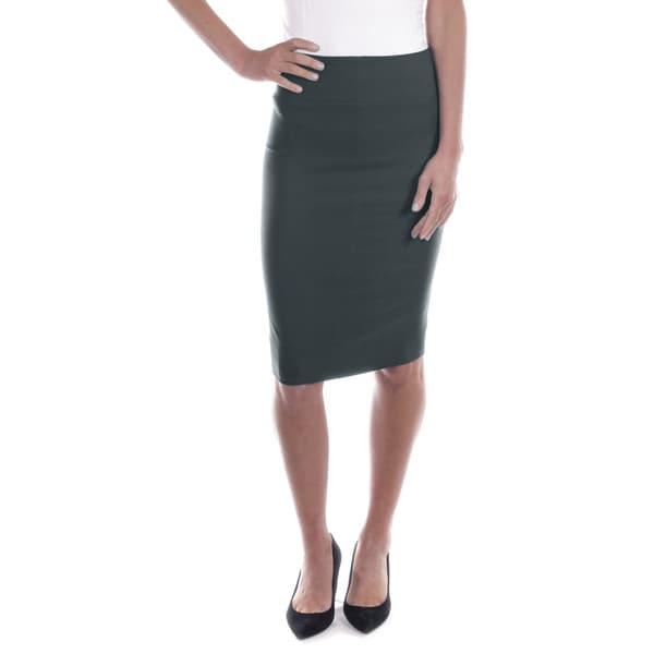 Women's Mid Length Pencil Skirt
