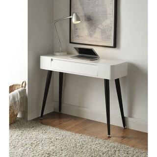 Winslow White Kurv Floating Desk 18001475 Overstock
