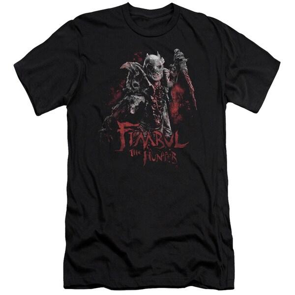 The Hobbit/Fimbul The Hunter Short Sleeve Adult T-Shirt 30/1 in Black