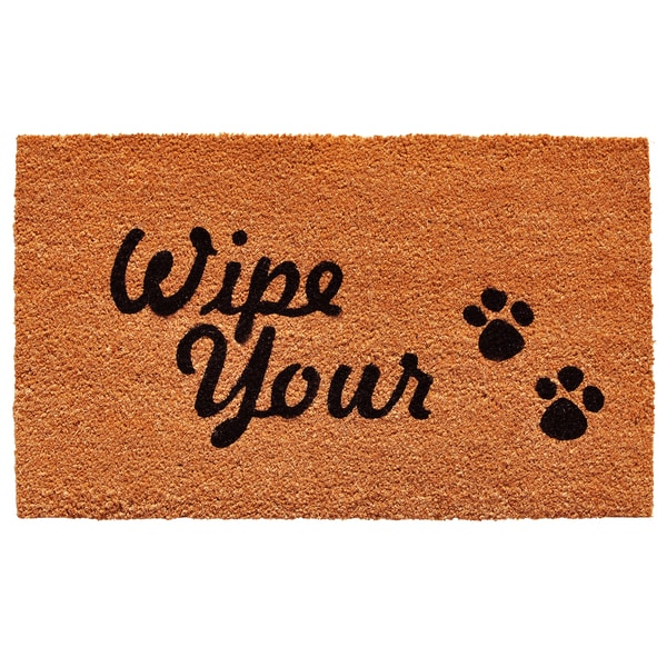 Wipe Your Paws Doormat (1'5 x 2'3)