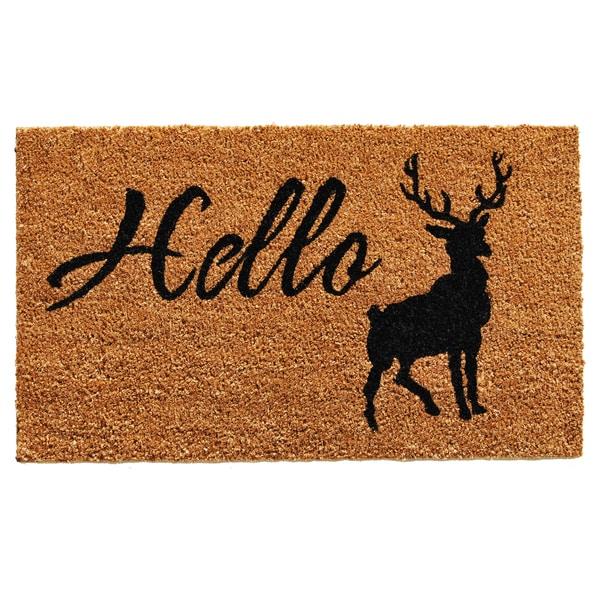 Hello Elk Doormat (1'5 x 2'3) 20165878