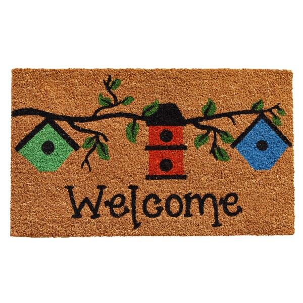 Birdhouse Welcome Doormat (1'5 x 2'3) 20165887