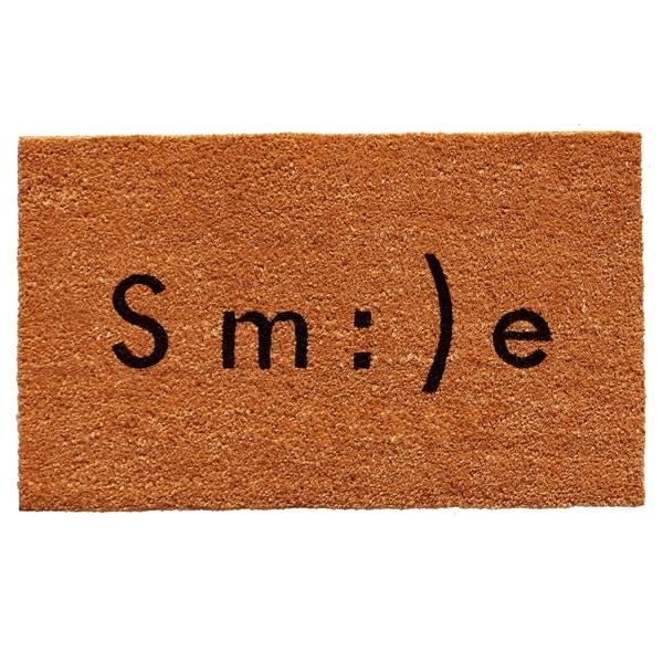 Smile Emoji Doormat (1'5 x 2'3)