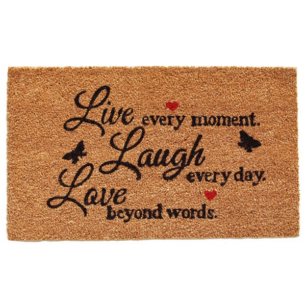 Live Every Moment Doormat (1'5 x 2'3) 20165893
