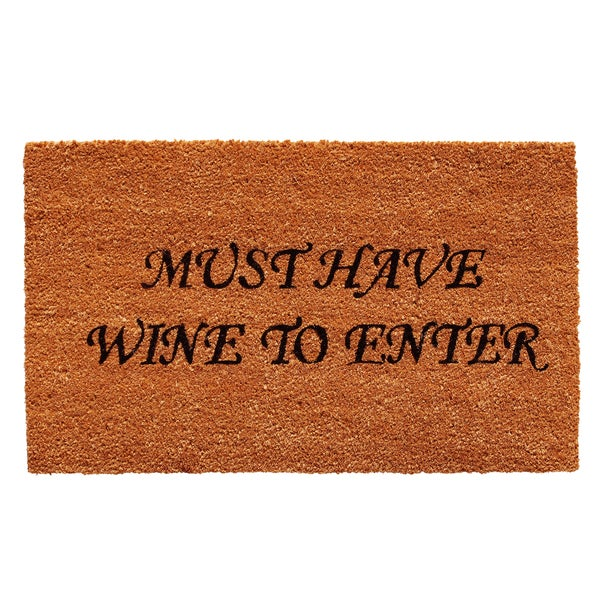 Must Have Wine Doormat (1'5 x 2'3)