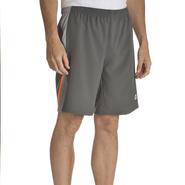 Lotto Men's Grey Polyester Training Shorts