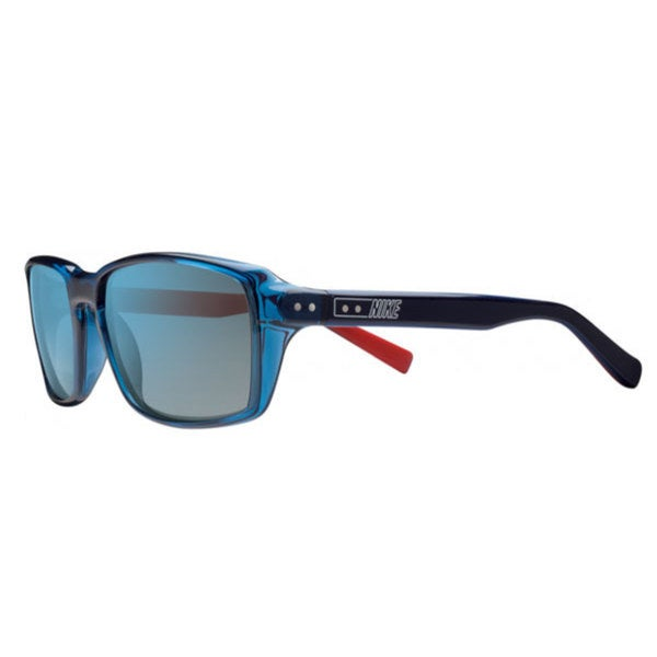 Nike EV0639-407 Sport Gray with Blue Flash Sunglasses