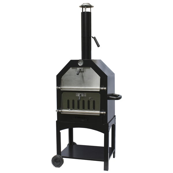 La Hacienda UK LTD 56107US Steel Pizza Oven & Smoker