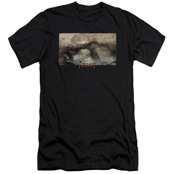 Hobbit/Epic Journey Short Sleeve Adult T-Shirt 30/1 in Black