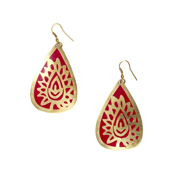 Desert Bloom Earrings (India)
