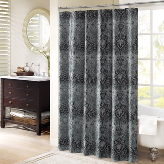 Bombay Norton Chenille Shower Curtain 2-Color Options